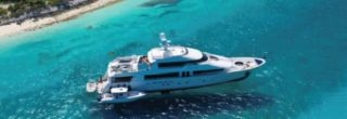 130ft Motor yacht in the Bahams